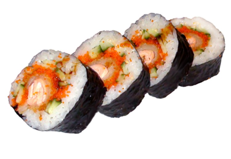 Salmon Tempura Big Roll Bild 1