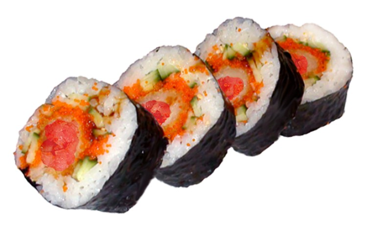 Tuna Tempura Big Roll Bild 1
