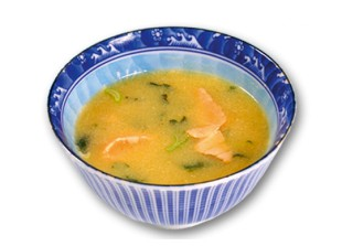 Suppen - Miso Sake Suppe