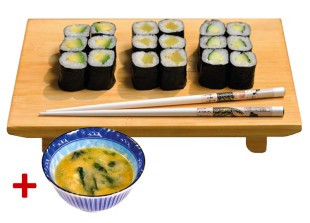 business_lunch - BL Maki Set Vegetarisch